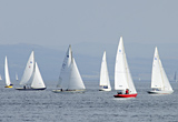 Yacht racing on Clyde