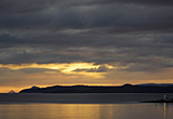 Sunset over Bute, Toward Pt. : AC163