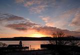 Dunoon pier sunrise