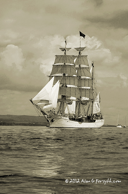Tall Ships Race, Clyde July 2011