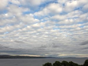 Textured Skies Over Clyde