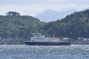 Wemyss Bay Ferry from Rothesay