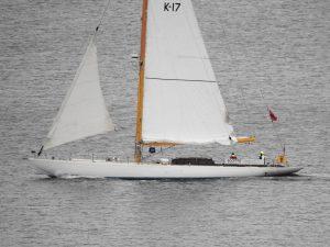 Yacht Sceptre (locally built)