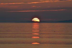 Sunset from Machrahanish, Argyll