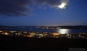 Dunoon & Gourock (beyond) Nighttime