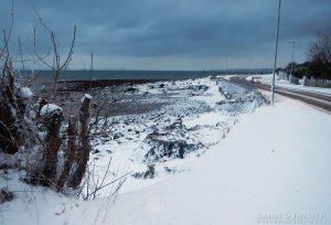 Innellan Shoreline in Winter
