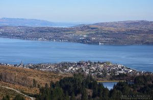 Dunoon & Clyde From Top of Bishop's Seat