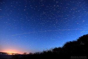 International Space Station Pass Over Western Scotland
