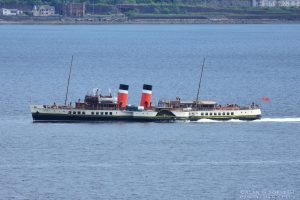 PS Waverley on the Clyde