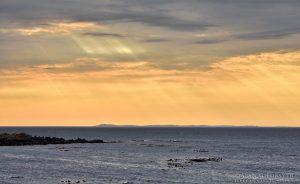 Sun Rays at Machrihanish Kintyre, Argyll