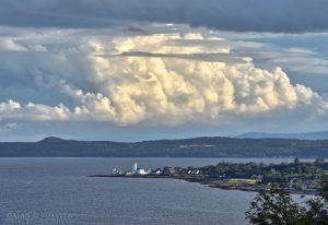 Cloud Formations Over Bute
