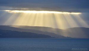 Sunrays Over Largs