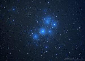 Open Star Cluster Pleiades (M45)