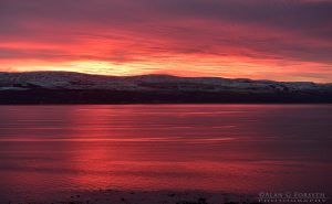 Winter Sunrise Over Clyde