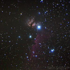 Flame & Horsehead Nebula in Orion