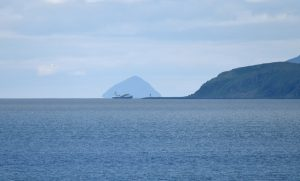 Southern Bute and Ailsa Craig