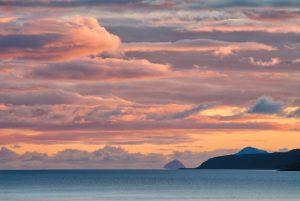 Winter Sunset over Clyde