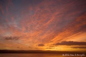 Innellan Sunrise 11th December 2010