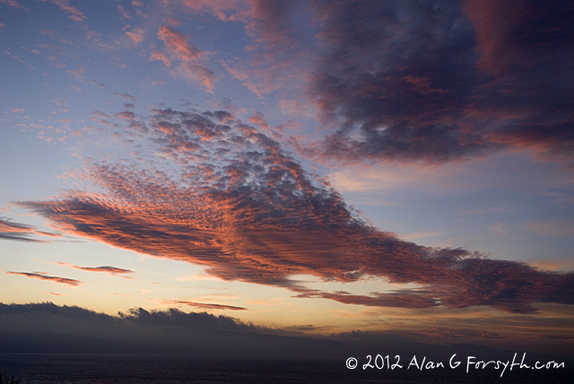 Clyde sunrise from Innellan 11 Nov 2011