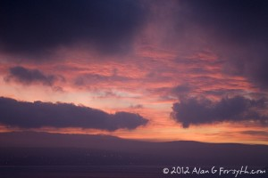 Clyde sunrise from Innellan