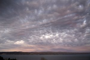 Textured Clouds Over Clyde