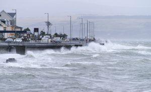 Storm Hitting Dunoon Esplanade