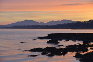 Winter Sunset South Cowal