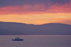 Sunrise Over Clyde