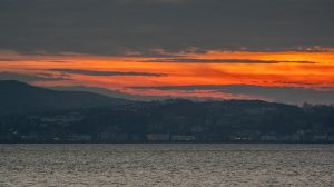 Sunset Over Rothesay, Bute