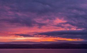 Winter Sunrise Over Clyde