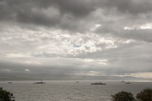 Warships on Clyde