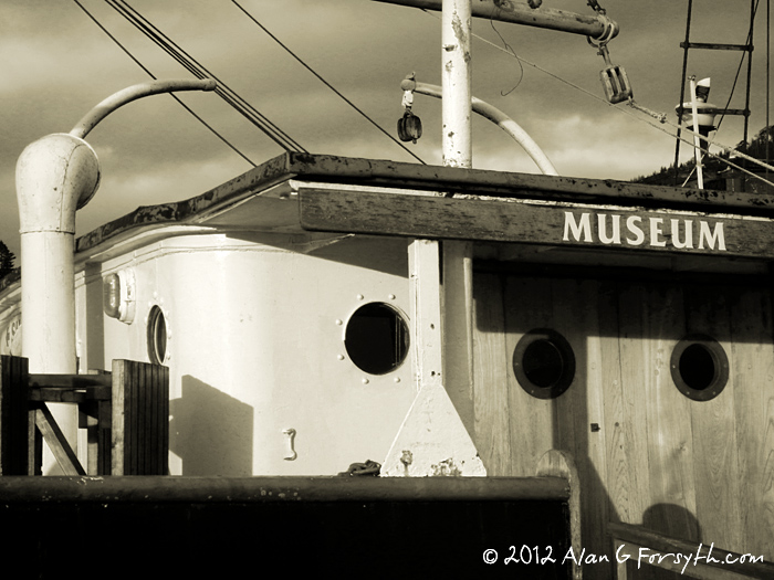 Inveraray Museum ship
