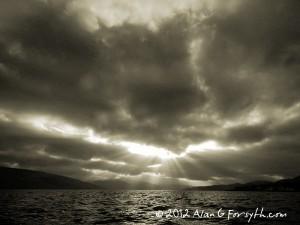 Skies Over Loch Fyne, Argyll