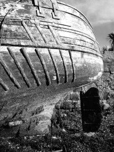 Ship Rudder Port Bannatyne, Bute