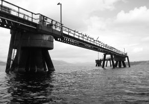 Inverkip Power Station Jetty