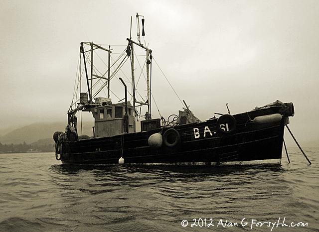Fishing Boat, Ardentinny