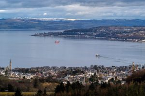 Dunoon and the Clyde Ferries
