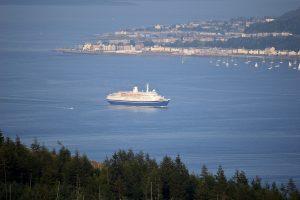 Gourock & Cruise Ship