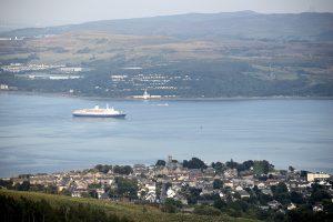Dunooon, Cloch & Cruise Ship
