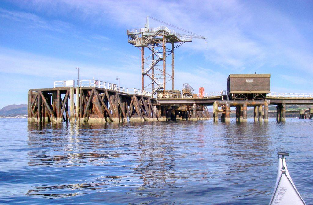 Inverkip Power Station Pier
