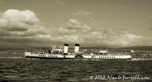 PS Waverley on Clyde