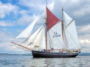 Constantia, Tall Ships Race Greenock 2011