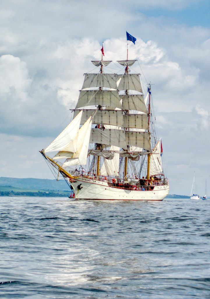 Tall Ships Race Greenock 2011