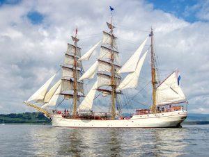 Europa, Tall Ships Race Greenock 2011