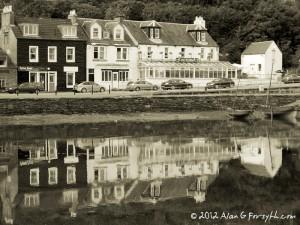 Harbour Reflections, Tarbert, Argyll