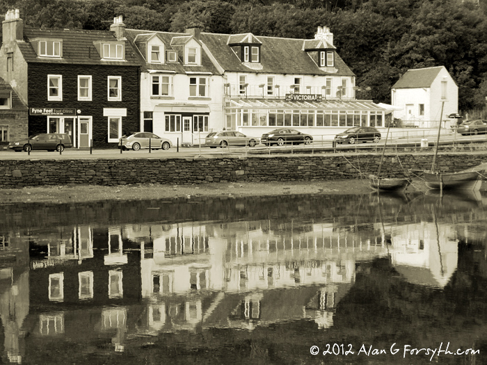 Tarbert, Argyll, Harbour Reflections